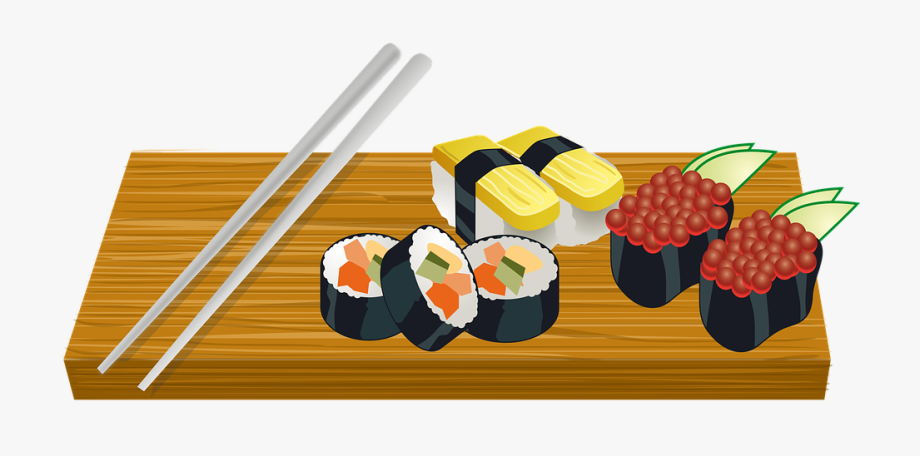 Sushi Clipart #314632.