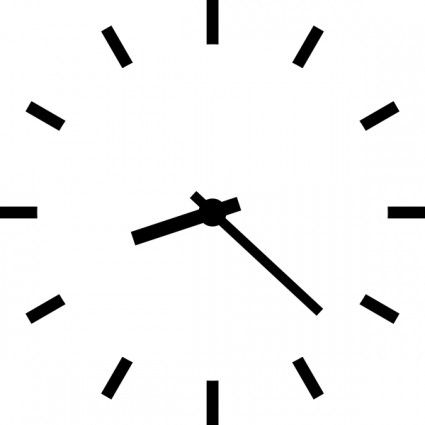 Clock clip art free vector in open office drawing svg svg 2.