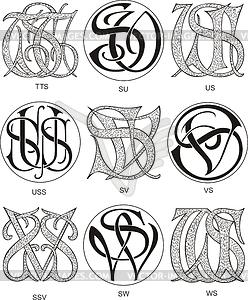 Monograms STT.