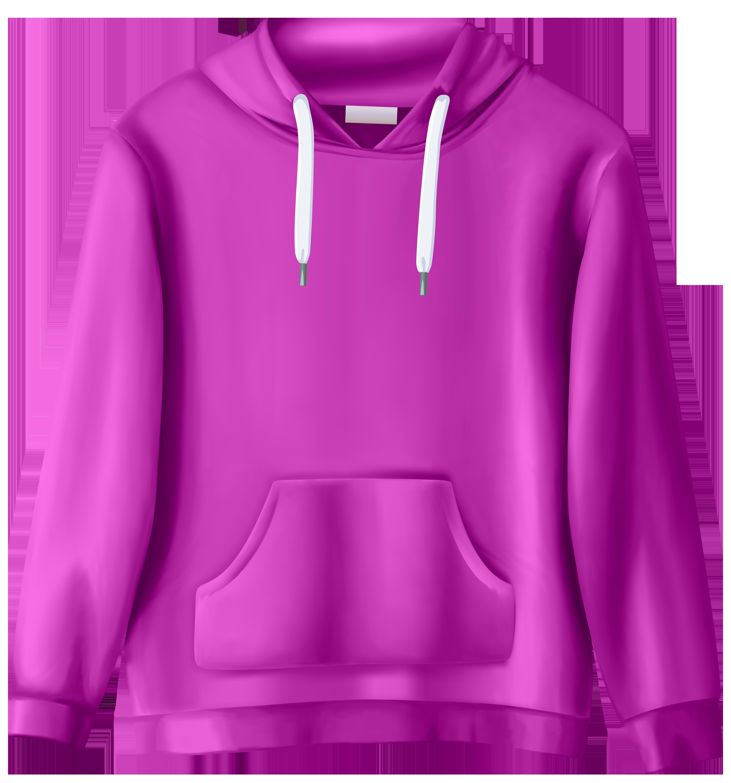 Pink Sweatshirt PNG Clip Art.