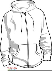 Free Hooded Sweatshirt Clipart.
