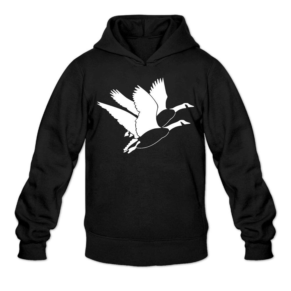 Amazon.com: Clipart Flying Goose Men's Hoodie Long Sleeve Jackets.