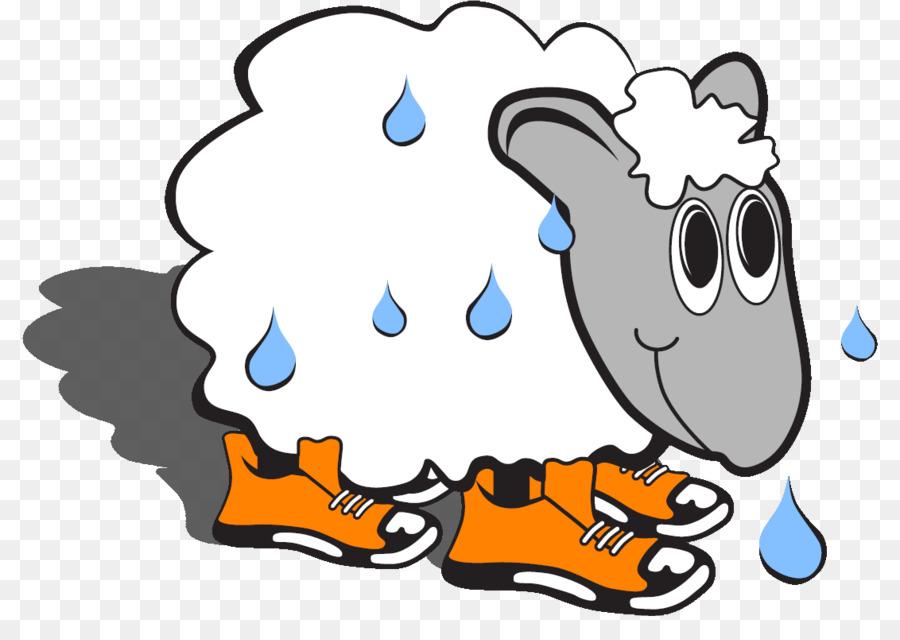 Cartoon Sheep clipart.