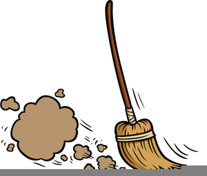 Clipart Sweeping The Floor.