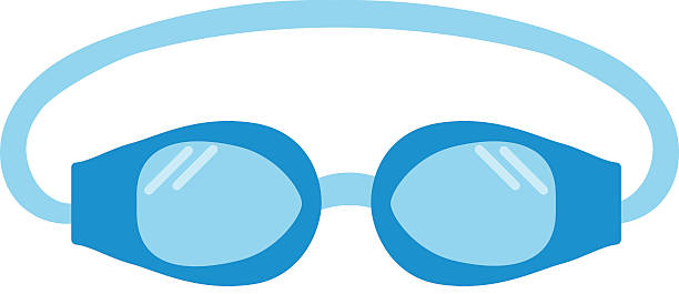 Best Swimming Goggles Illustrations, Royalty.