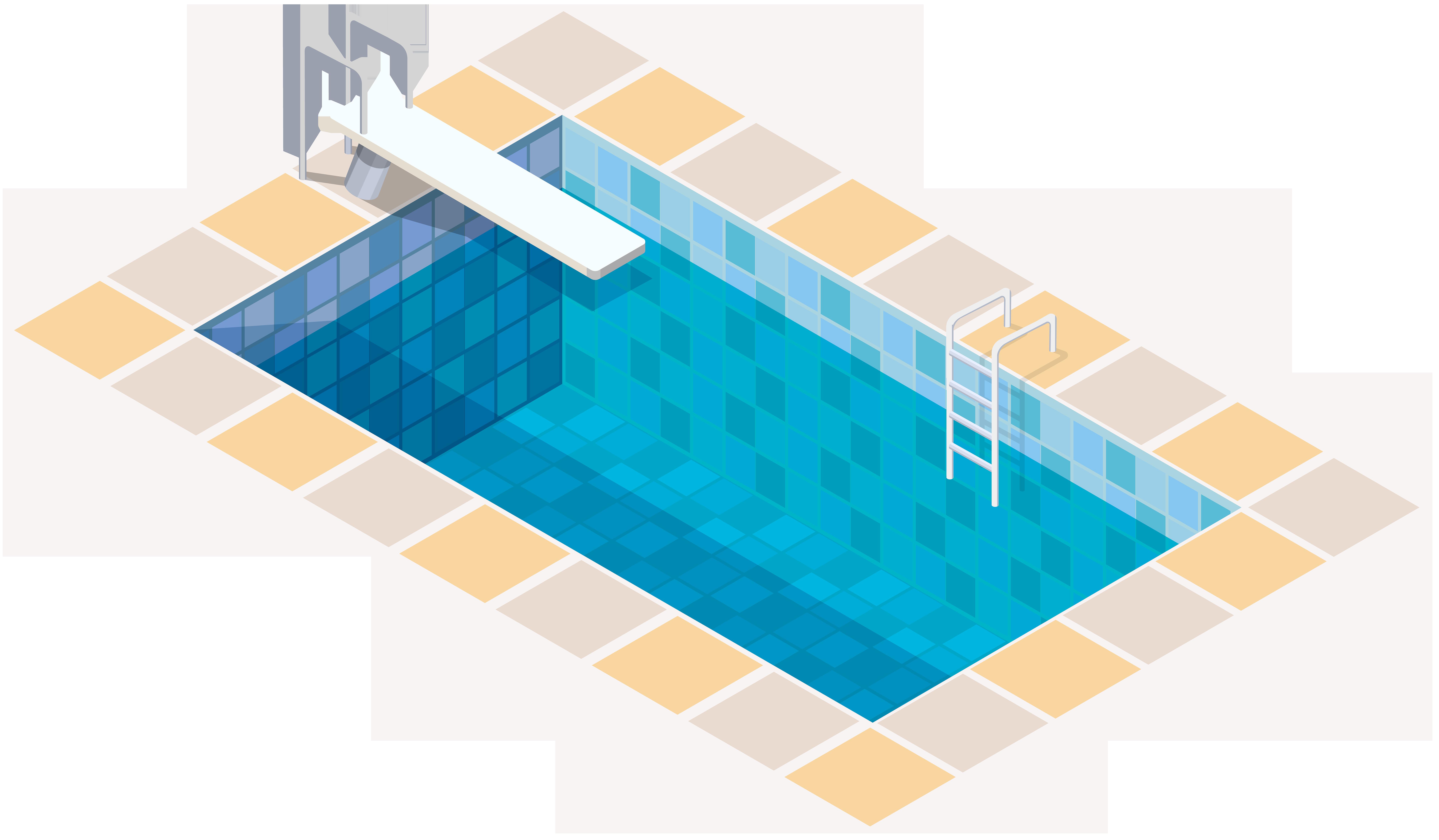 Swimming Pool PNG Clip Art.