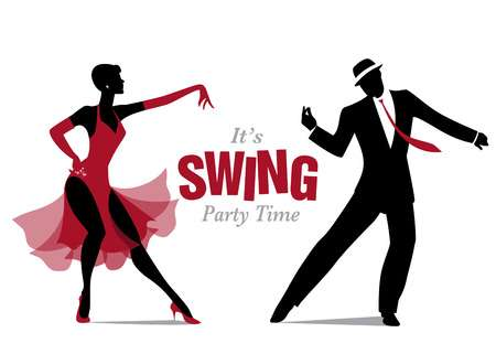 Swing dance clipart 2 » Clipart Station.