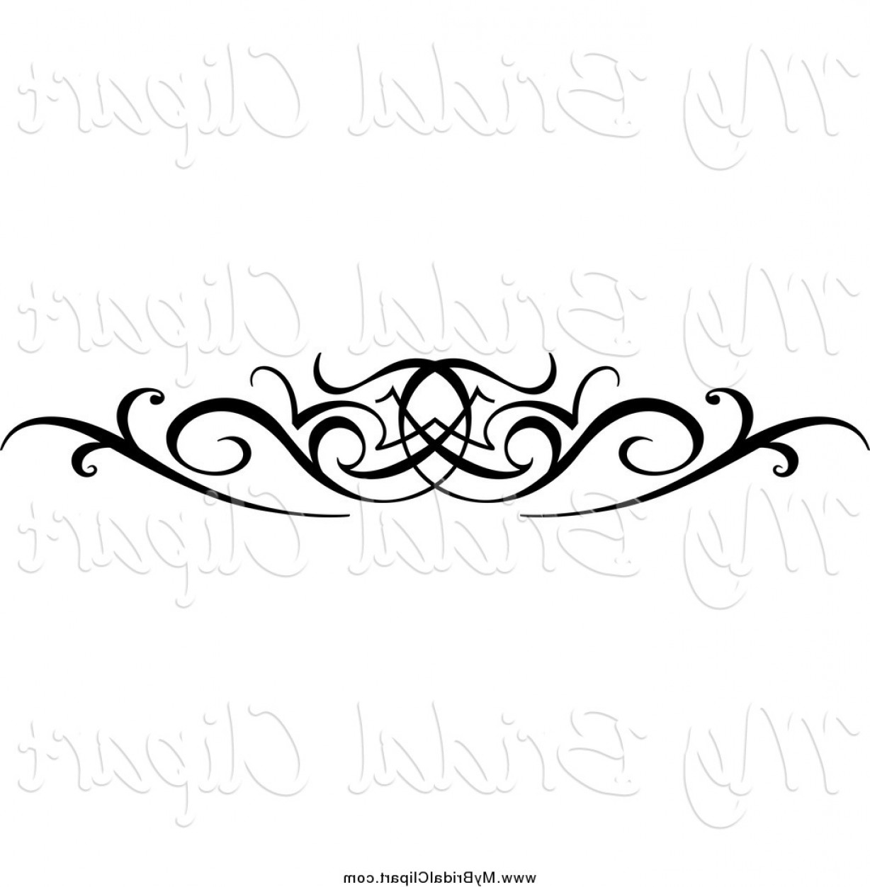 Black Swirl Design Clip Art Free Bridal Clipart Of A Black.