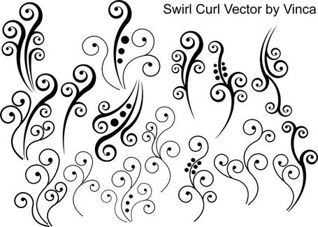 Free Swirl Curly Clipart and Vector Graphics.