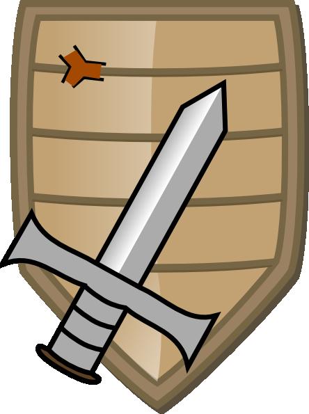 Sword And Shield Clip Art at Clker.com.