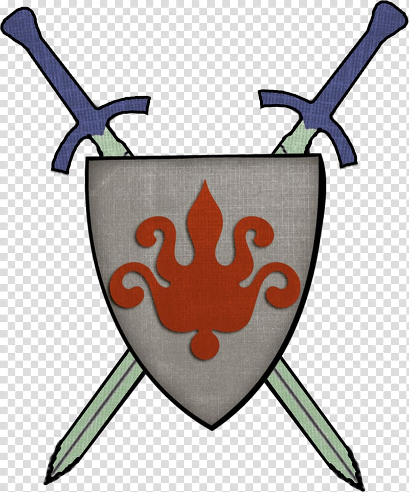 Shield Middle Ages Knight Sword , Shield transparent background PNG.