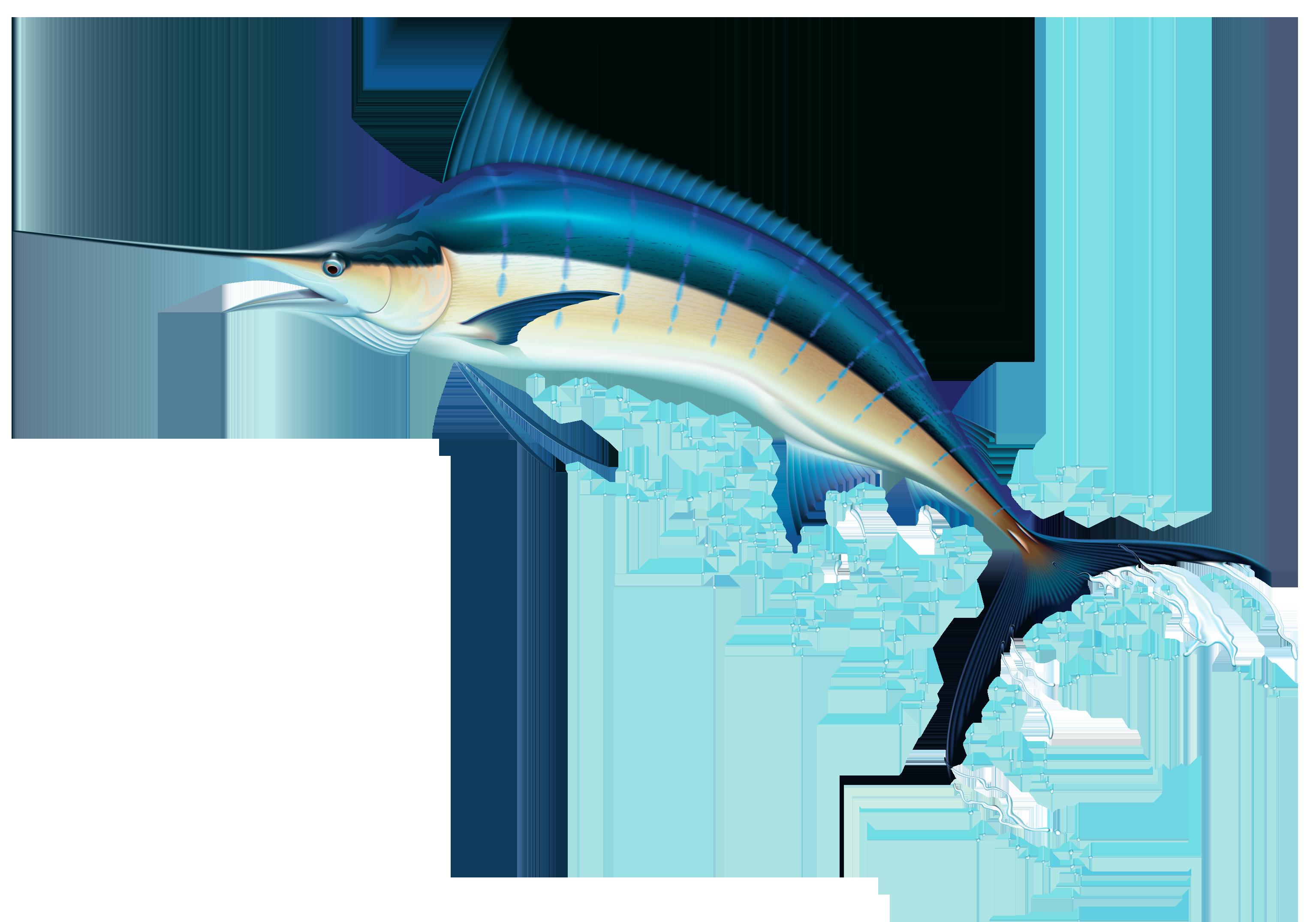 Swordfish PNG Clip Art.