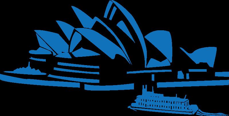 Free Clipart: Sydney opera.