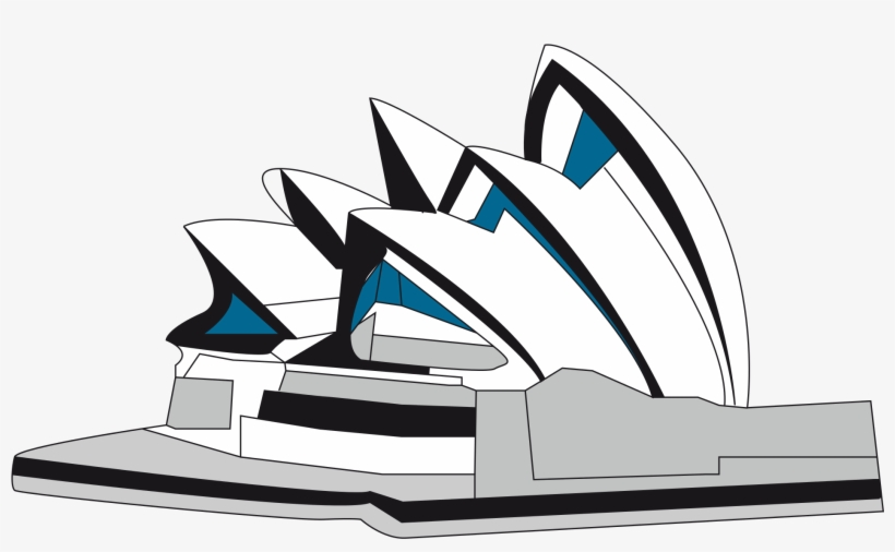 Sydney Opera House Clipart.