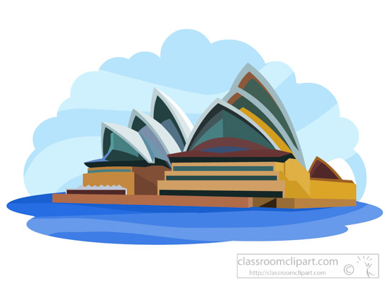 Australia clipart sydney opera house, Picture #239595.