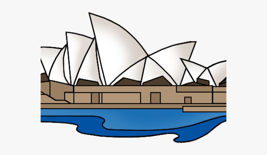 Australia Clipart Opera House.