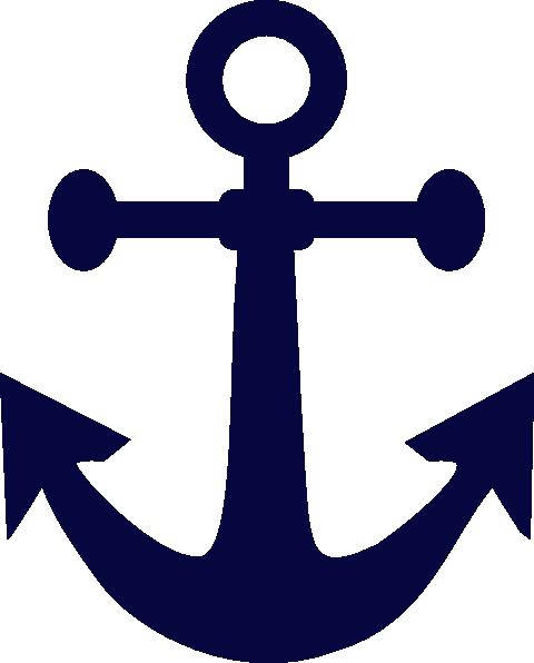Anchor Blue Art SVG Downloads.
