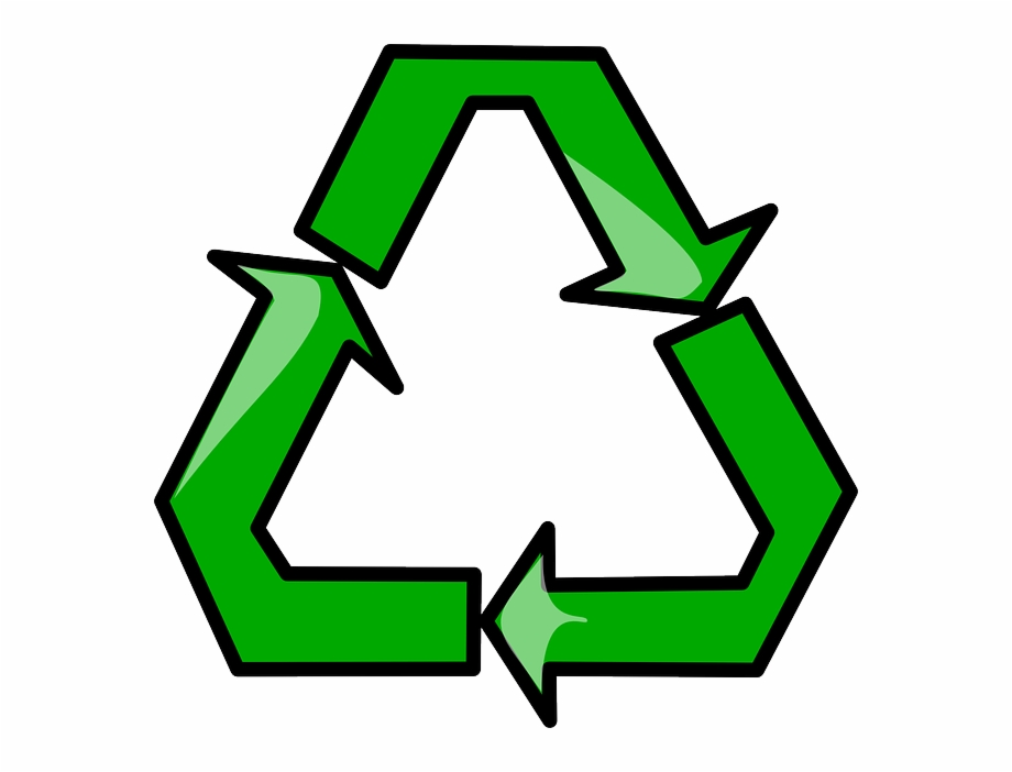 Sign, Symbol, Cartoon, Signs, Symbols, Recycle.