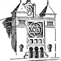 Jewish Synagogue Clipart.