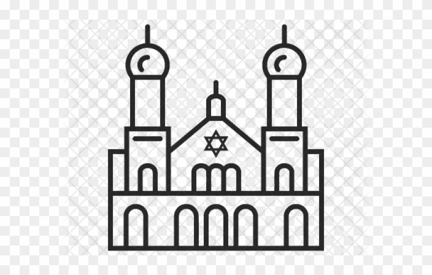 Synagogue Clipart Religious Place.