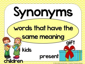 Synonyms.