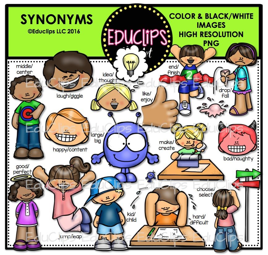 Synonyms clipart 5 » Clipart Station.