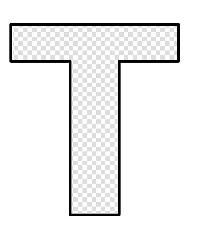 Moldes, T letter text transparent background PNG clipart.