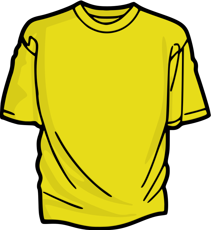 Shirt shirt clip art tshirt free clipart images clipartcow.