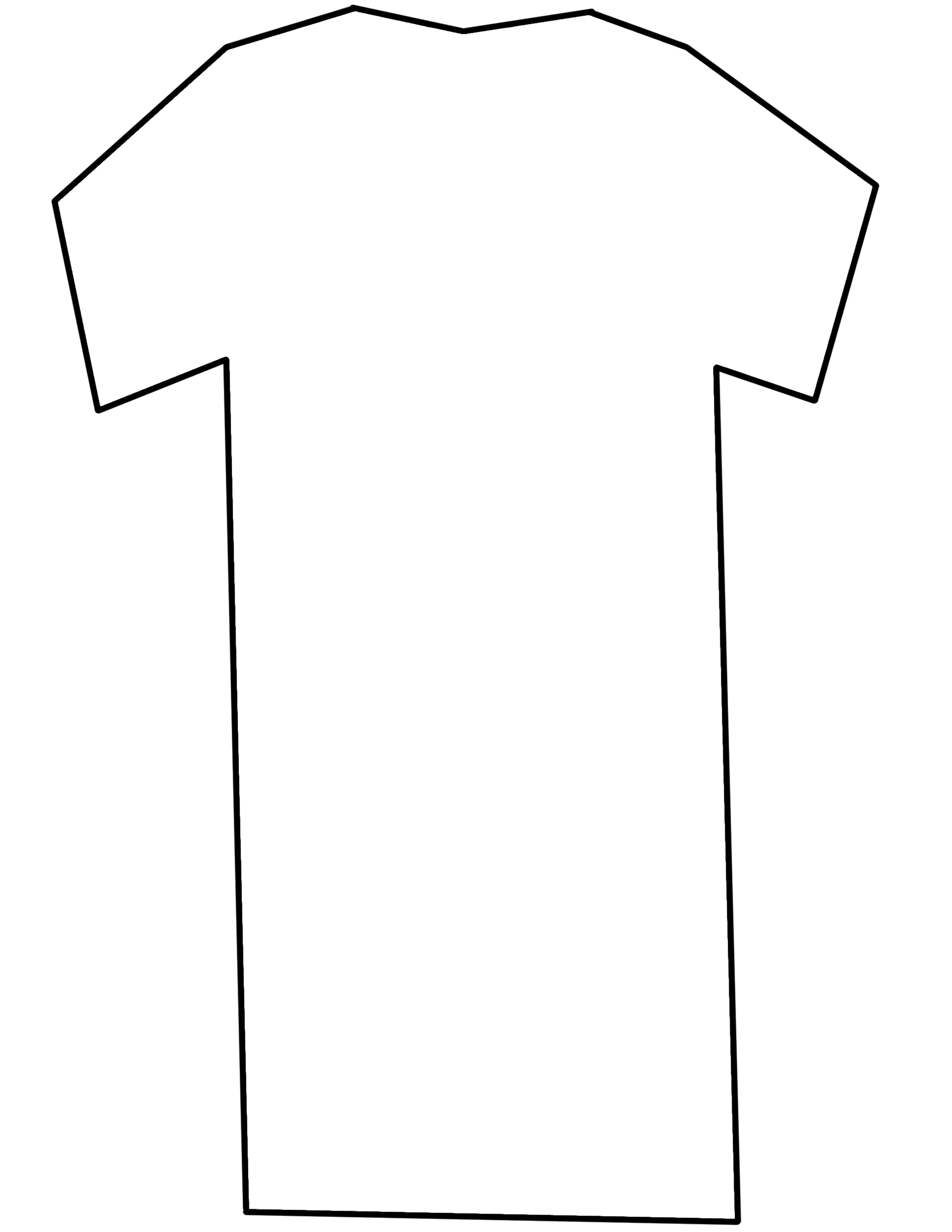 Free T Shirt Printable Template, Download Free Clip Art, Free Clip.