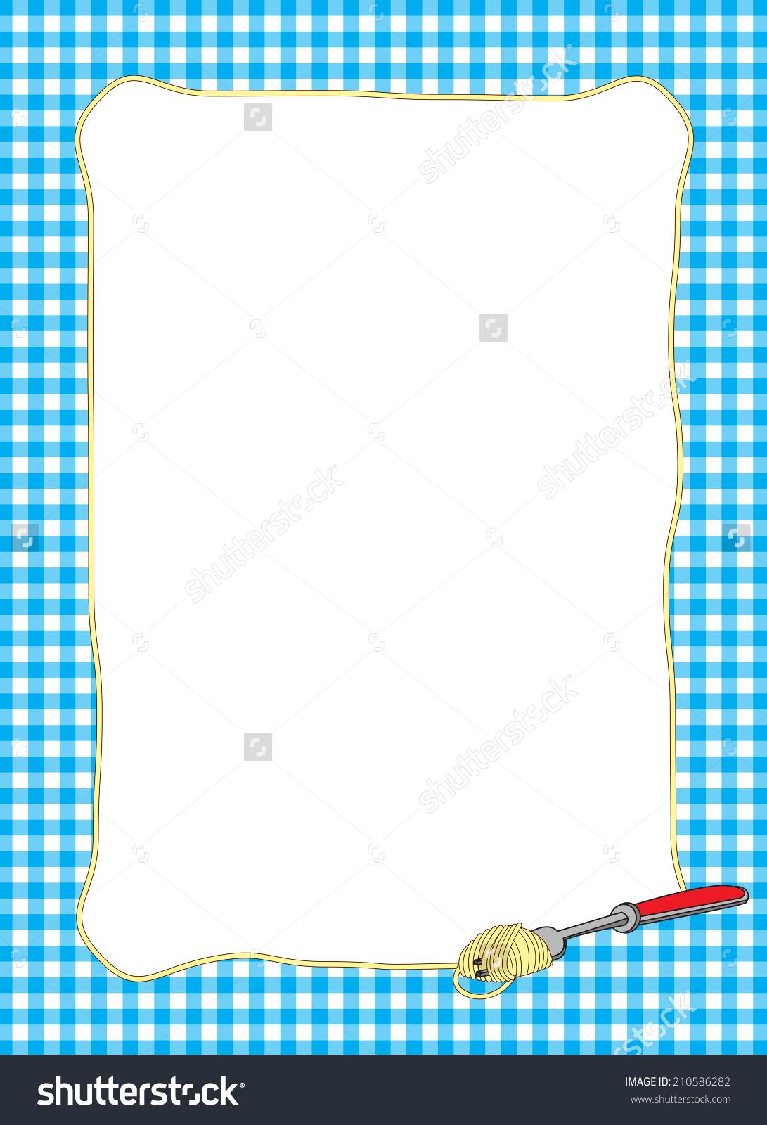 clipart table cloth border