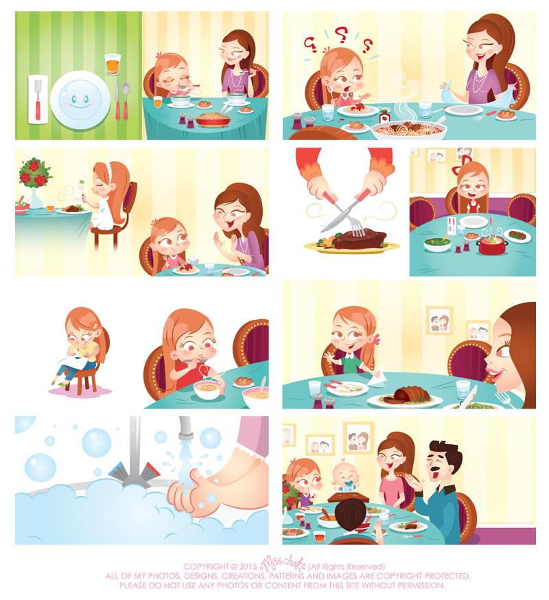 JouJou Table Manners on Behance.