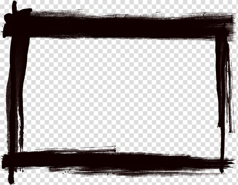 Frames Tableau, title frame transparent background PNG.