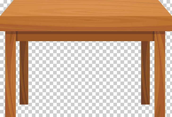 Table Wood , Tables, orange table illustration PNG clipart.