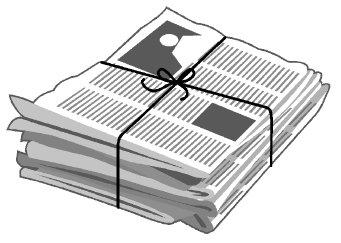 Tabloid Clipart.