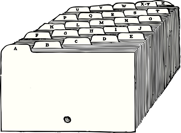 Tabs Dividers clip art Free vector in Open office drawing.