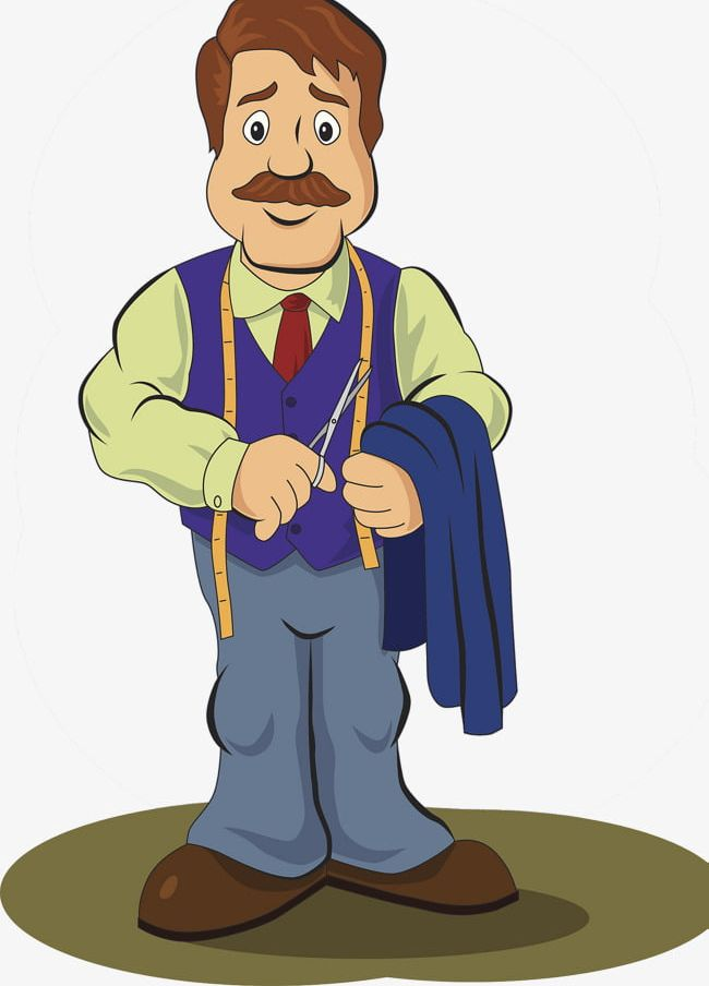 Tailor Illustrations PNG, Clipart, Cloth, Cloth Size.