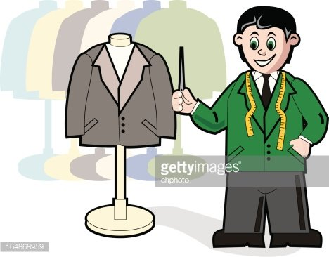 Tailor Clipart Image.