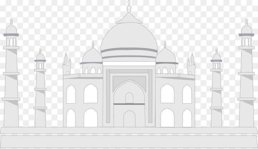 Taj Mahal png download.