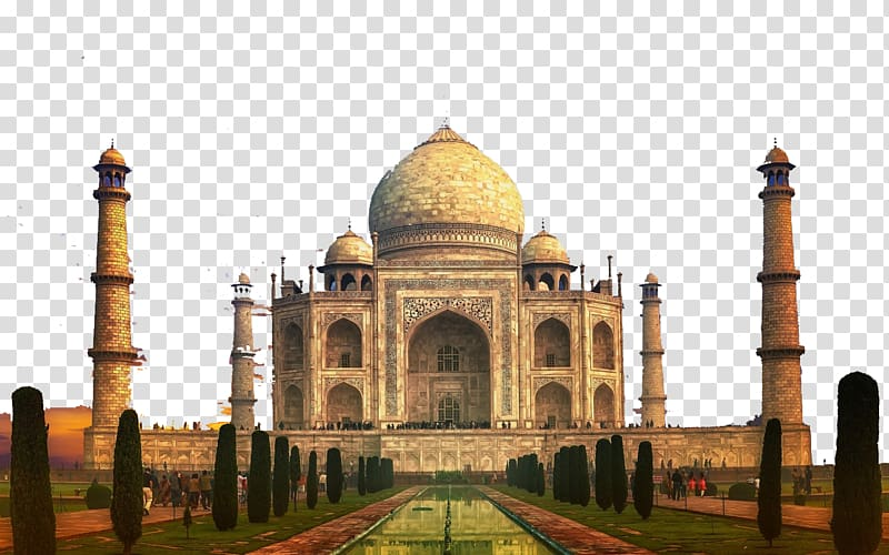 Taj Mahal Mahal, India Wonders of the World Architecture.