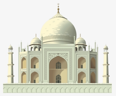 Free Tajmahal Clip Art with No Background.