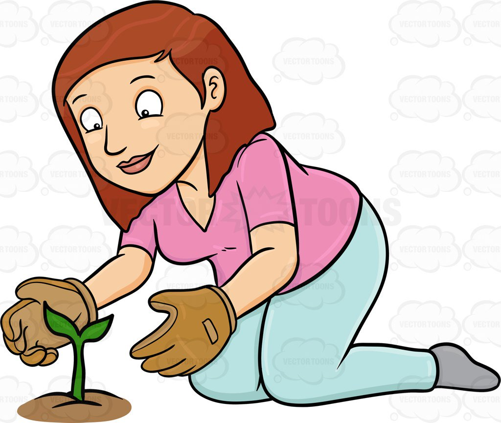 Taking care of plants clipart 3 » Clipart Station.