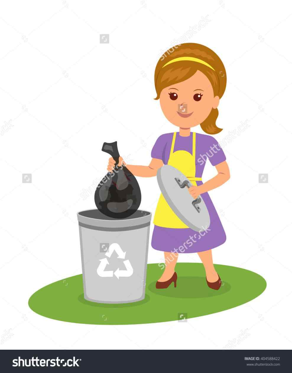 Take out trash clipart 3 » Clipart Station.