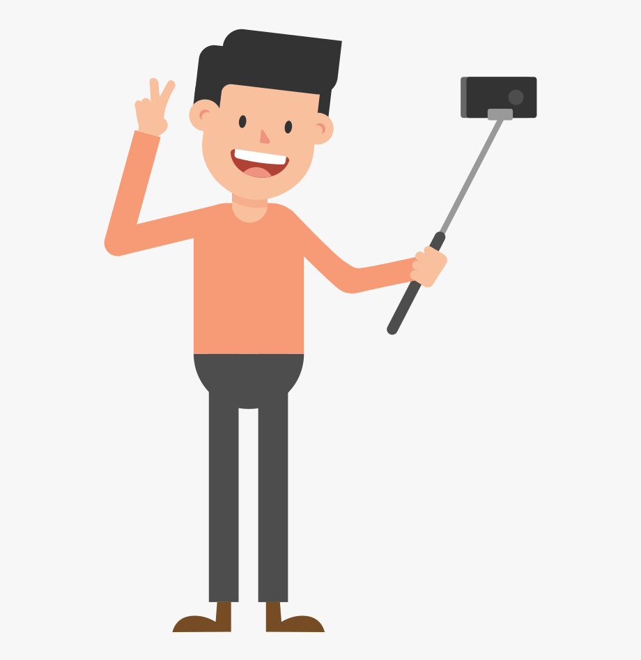 Taking A Picture Cartoon Clipart , Png Download.