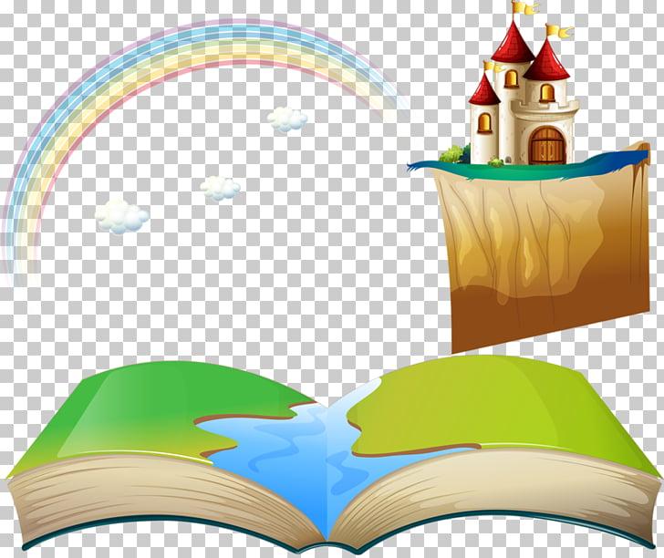 Fantasy Fairy tale , Rainbow PNG clipart.