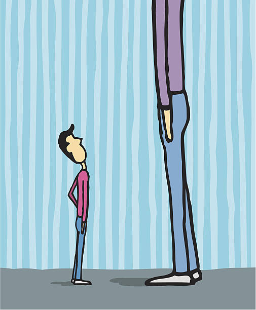 Best Tall And Short Illustrations, Royalty.