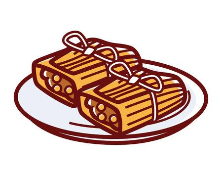 Tamale clipart 1 » Clipart Station.