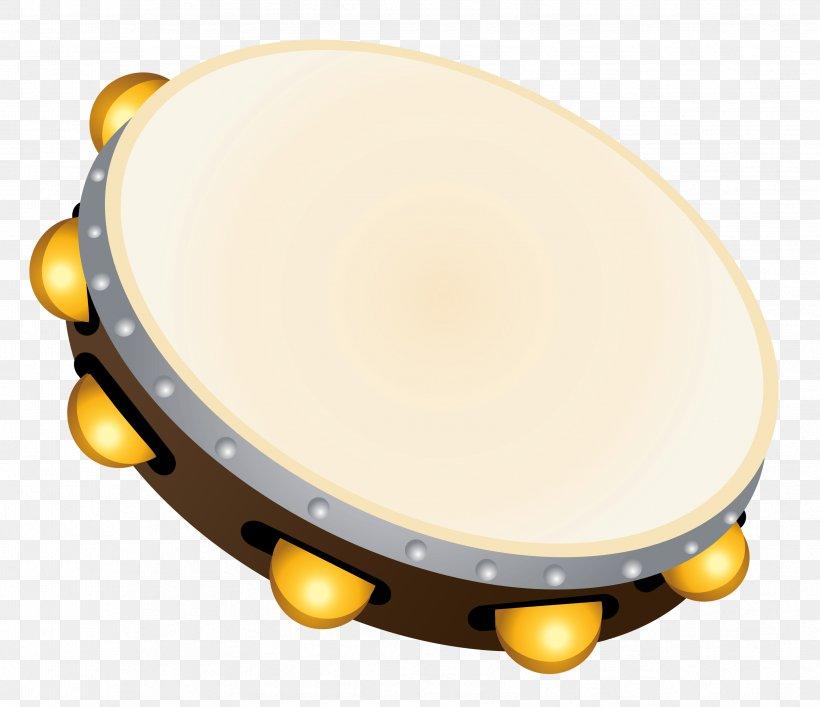 Tambourine Clip Art, PNG, 3352x2892px, Watercolor, Cartoon.