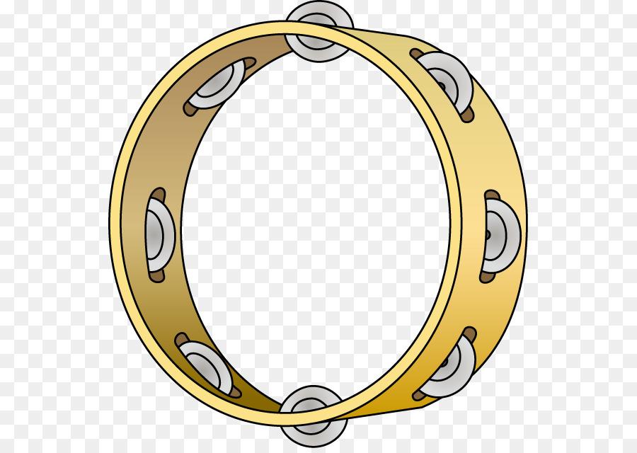 Percussion Tambourine Clip art.