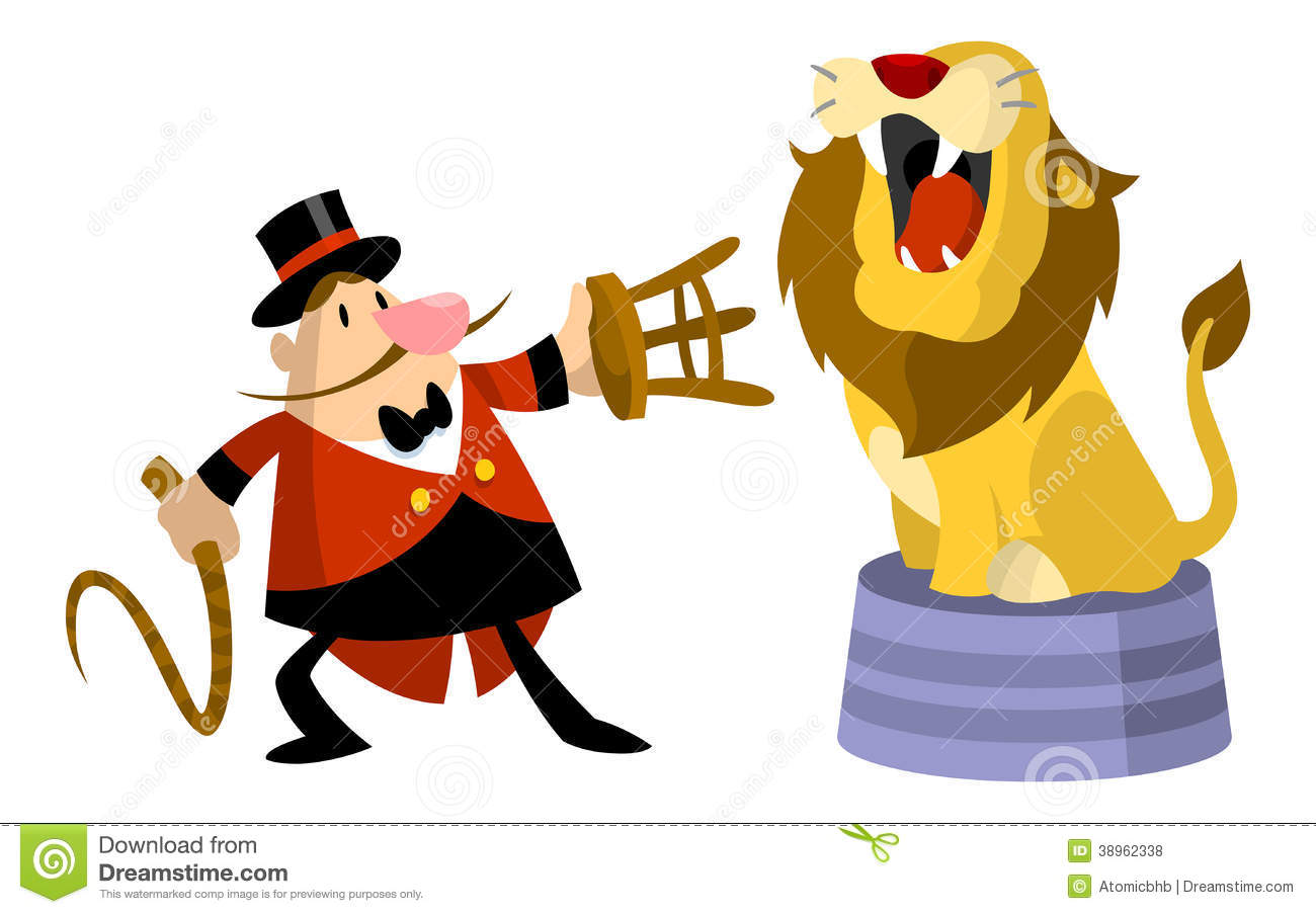 Lion Tamer Clipart.