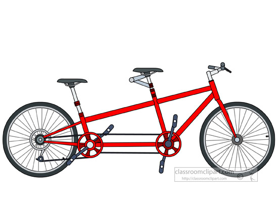 Tandem bike clipart » Clipart Station.